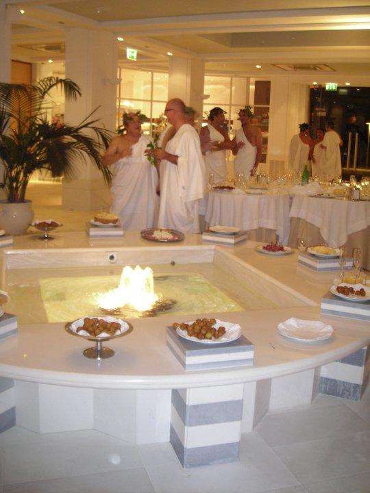 Toga party per BOBCAT – 180 persone SPA HOTEL KALIDRIA – Castellaneta Marina (Ta)