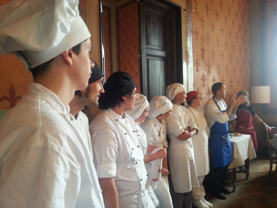 METLIVE assicurazioni – Lezione di cucina toscana – 60 persone Villa Pitiana (FI)