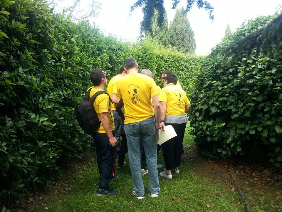 METLIVE assicurazioni- Caccia all'ingrediente – 60 persone – Villa Pitiana (FI)