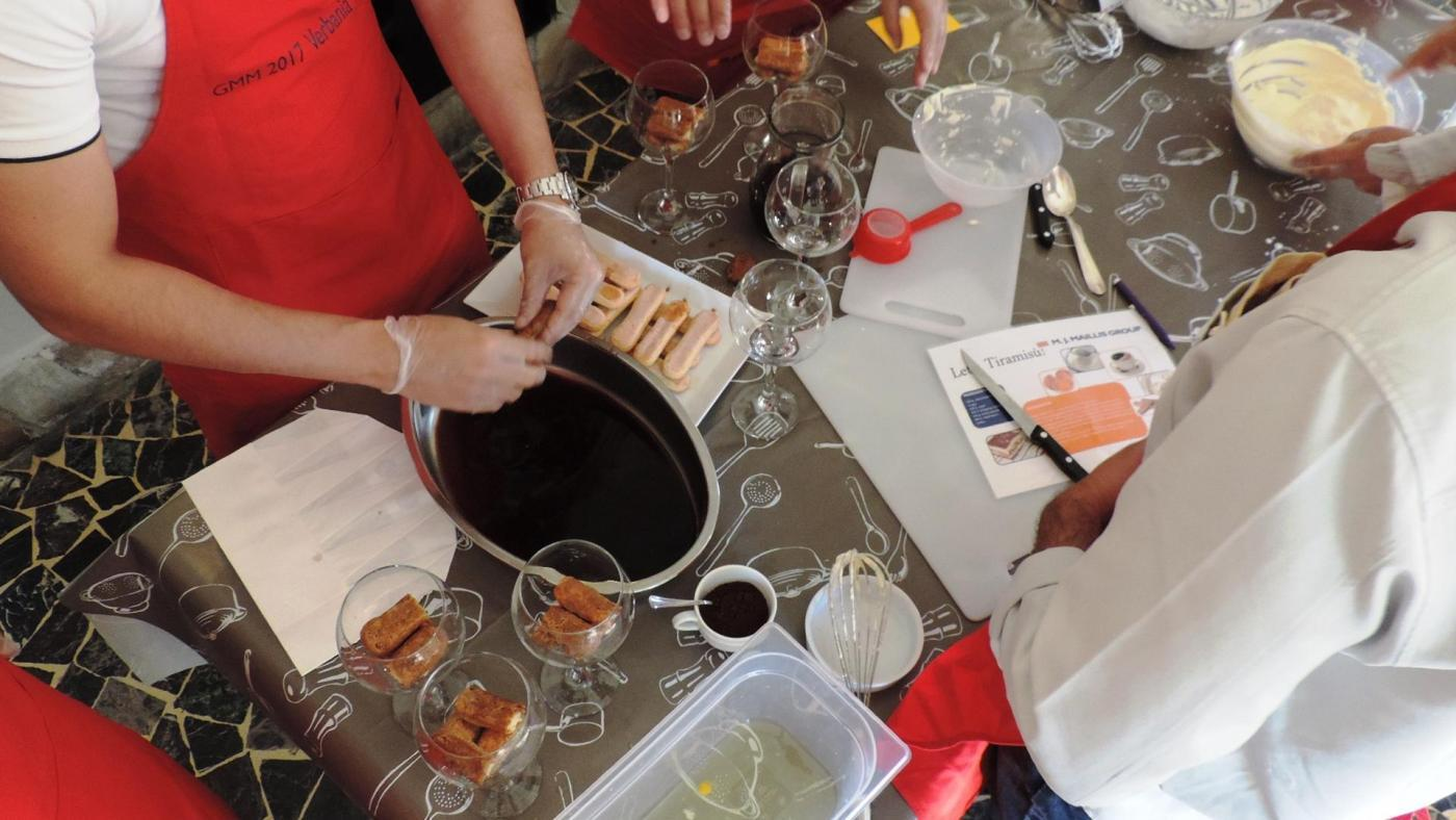 SIAT M.J.Maillis Group – Cooking Lesson 50 persone – Isola Bella (VB)