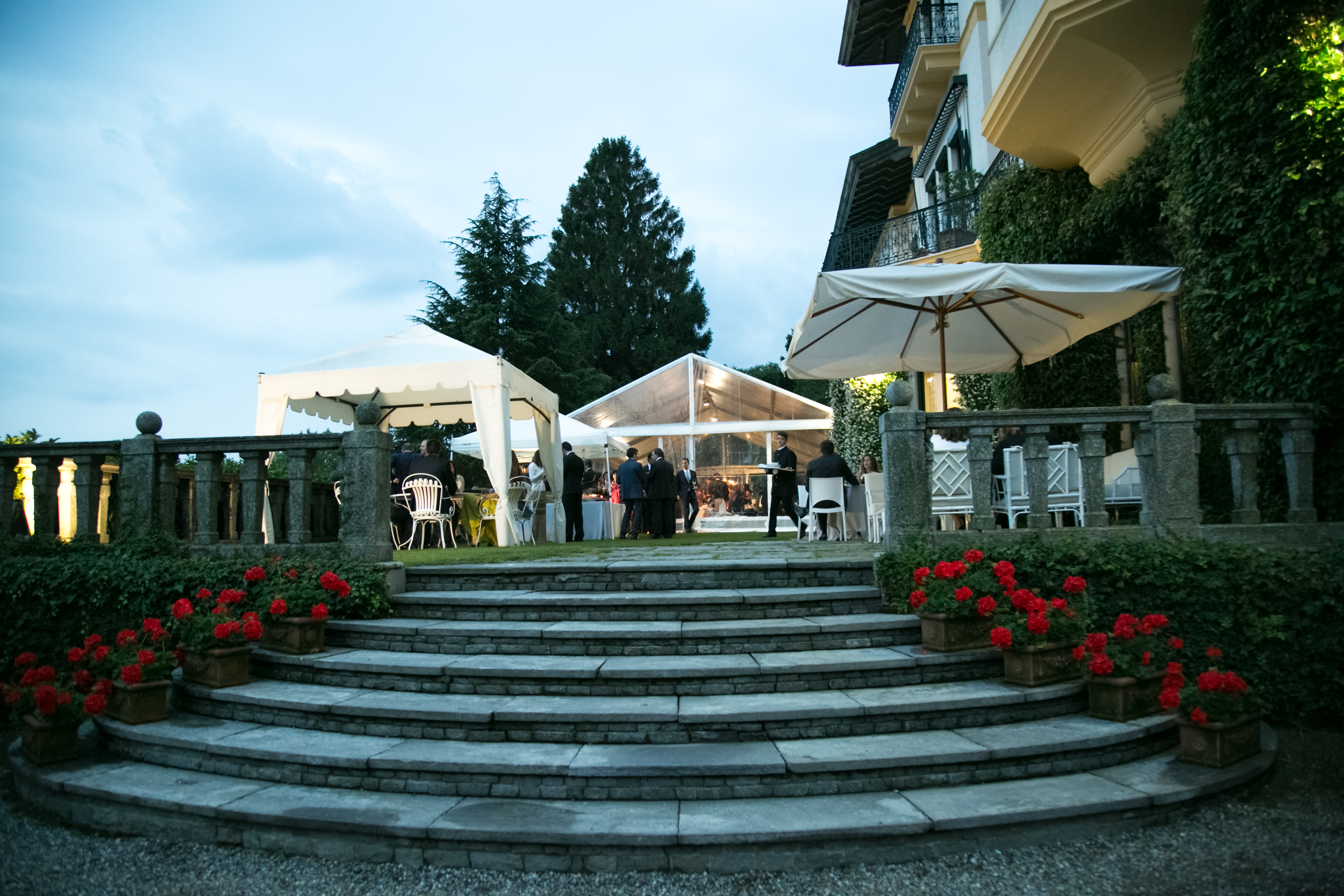 Garden party per INSEAD GLOBAL FORUM – 400 persone